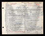 Death Certificate Stephen Cunfer II
