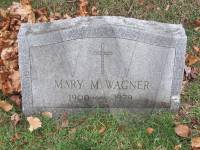 Grave of Mary Wagner